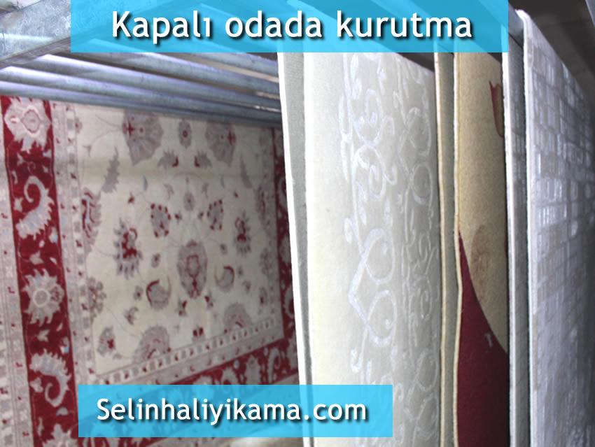 atakent halı yıkama kapalı odada kurutma